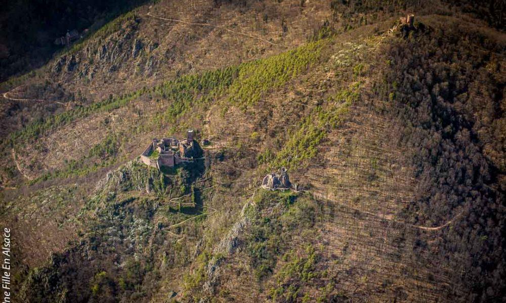 Vol en Helicoptère au dessus des châteaux de Ribeauvillé Hopla Magazine©Céline-Une-Fille-En-Alsace-2019-14