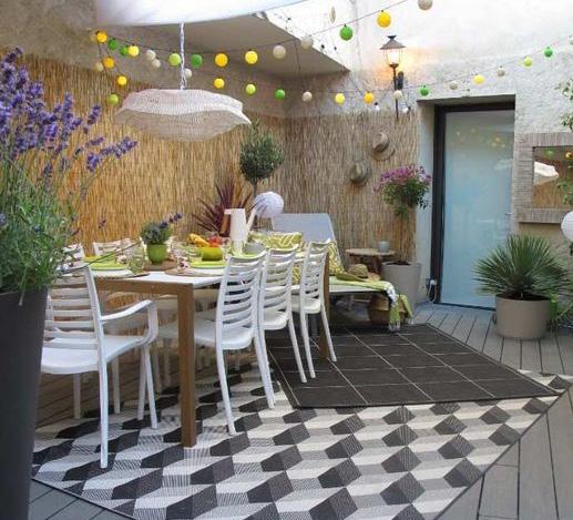 Idee deco pour vos terrasses et balcon - Hopla Magazine